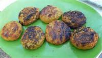Vegetarian - Grilled Falafel Burgers