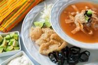 Vegetarian - Tortilla Soup Especiale