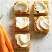 Vegetables - Vegetables Carrot And Zuccini Bars With Citrus Icing