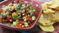 Vegetables - Vegetables -  Grilled Corn And Black-bean Salsa