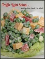 Vegetables - Traffic Light Salad