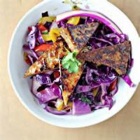 Vegetarian - Miso Glazed With Cabbage And Peppers