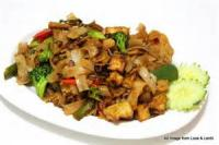 Vegetarian - Thai Drunken Noodles