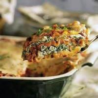 Vegetarian - Pasta -  Bean Lasagna