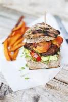 Vegetarian - Sandwich -  Portobello Burgers