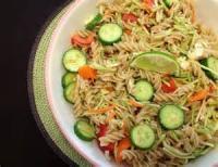 Vegetarian - Thai Style Pasta Salad