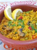 Vegetarian - Vegetable Paella