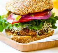 Vegetarian - Whole Grain Soy Burgers