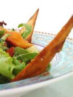 Vegetarian - Toasted Pita Bread With Vegetables And Herbs ( Fattoush )
