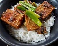 Vegetarian - Pan-fried Tofu With Garlic Sauce