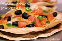 Vegetarian - Pizza -  Mexican Pizza
