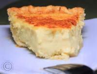 Pies - Coconut -  Coconut Custard Pie