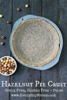 Pies - Crust -  Hazelnut Crust