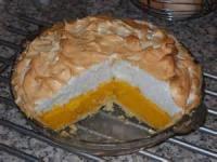 Pies - Orange Meringue Pie