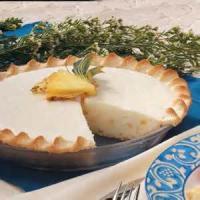 Pies - Pineapple Cream Cheese Pie