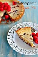 Pies - Raspberry Swirl Cheesecake Pie