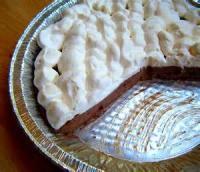 Pies - Chocolate -  Low-carb Chocolate Creme Pie