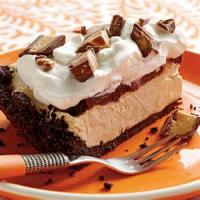 Pies - Frozen Peanut Butter Candy Pie