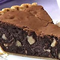 Pies - Chocolate -  Caribbean Fudge Pie