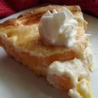 Pies - Peach -  Award Winning Peaches And Cream Pie