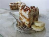 Pies - Caramel -  Caramel Date Cream Pie