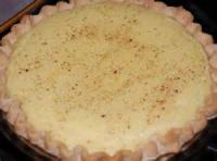 Pies - Lemon -  Lemon Custard Pie