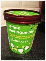 Pies - Lemon -  Lemon Ripple Ice Cream Pie