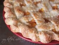 Pies - Peach -  Cinnamon Peach Pie