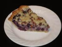 Pies - Blueberry Sour Cream Pie