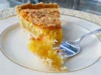 Pies - Coconut Chess Pie