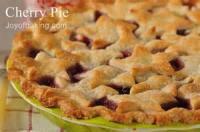 Pies - Cherry Dessert Recipes By Joy