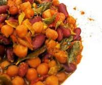 Vegetarian - Spicykidney Bean Stew