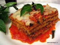Vegetarian - Eggplant Parmesan