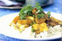 Vegetarian - Tofu -  Red Curried Tofu