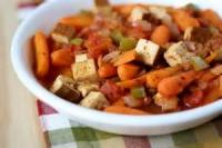 Vegetarian - Tofu Cacciatore