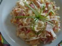 Polish - Salad -  Ham Salad (salatka Z Szynki)