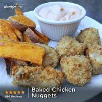 Poultry - Chicken -  Baked Buttermilk Chicken Nuggets