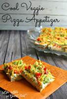 Pizza - Appetizer -  Cool Veggie Pizza Appetizer