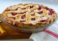 Pies - Strawberry -  Strawberry Rhubarb Pie By Dawno