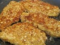 Poultry - Chicken -  Almond Encrusted Chicken With Lemon Sauce