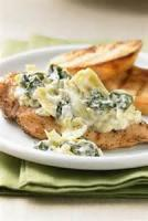 Poultry - Chicken -  Broiled Chicken With Creamy Spinach