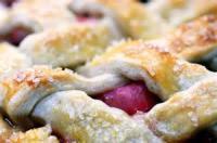 Pies - Rhubarb -  Rhubarb And Strawberry Pie