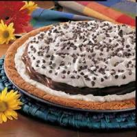 Pizza - Dessert -  Chocolate Pudding Pizza
