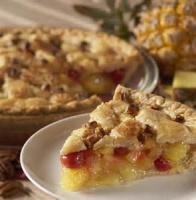 Pies - Pineapple -  Pineapple Upside Down Pie
