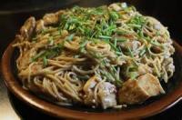 Poultry - Chicken -  Garlic Chicken Lo Mein