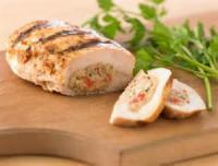 Poultry - Chicken -  Crab Stuffed Chicken Breasts