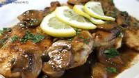 Poultry - Chicken Scallopine Marsala