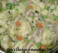 Poultry - Chicken And Dumpings