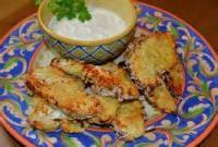 Poultry - Chicken -  Crispy Coconut Chicken Fingers With Apricot Dipping Sauce