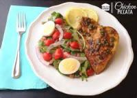 Poultry - Chicken -  Chicken Breast With Almond Citrus Sauce